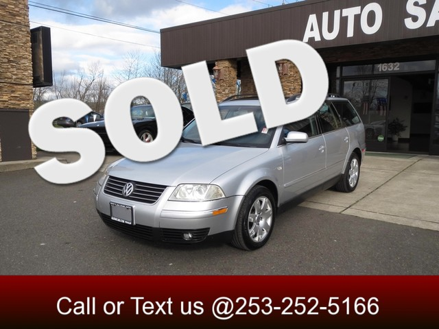 2002 Volkswagen Passat GLX 4motion AWD The CARFAX Buy Back Guarantee that comes with this vehicle