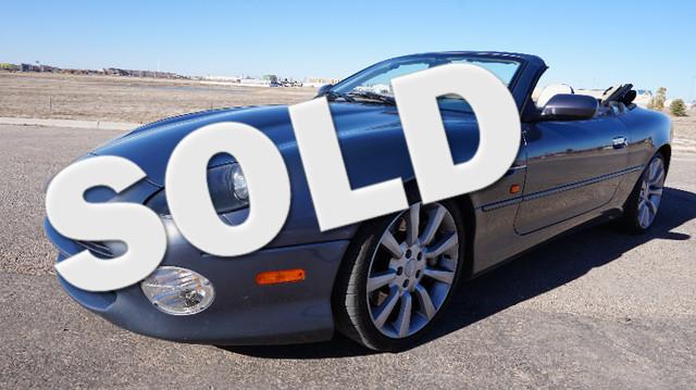 2003 Aston Martin Db7 Vantage Lubbock Texas Blue 2003