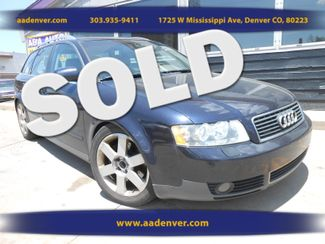 2003 Audi A4 Avant Quattro 6 Speed | Denver, CO | AA Automotive of Denver in Denver, Littleton, Englewood, Aurora, Lakewood, Morrison, Brighton, Fort Lupton, Longmont, Montbello, Commerece City CO