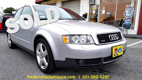 2003 Audi A4 3.0L in Frederick, Maryland
