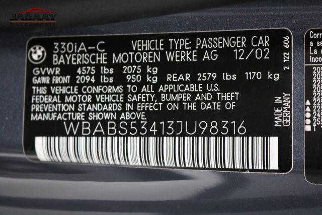 2003 BMW 330Ci Merrillville, Indiana 48