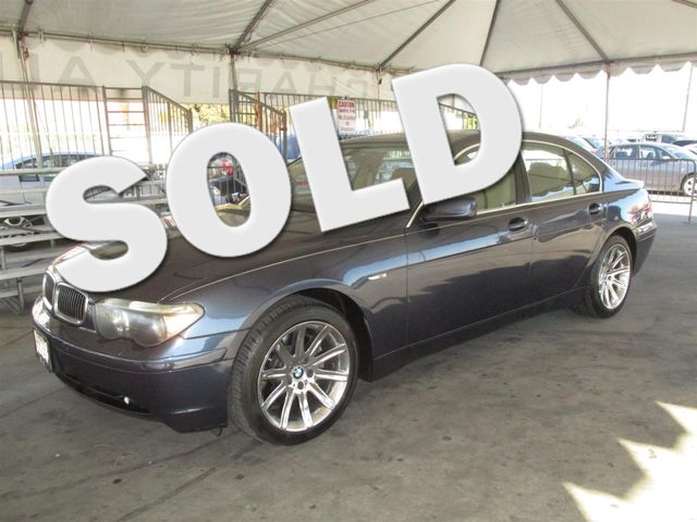 2003 BMW 745i Please call or e-mail to check availability All of our vehicles are available for