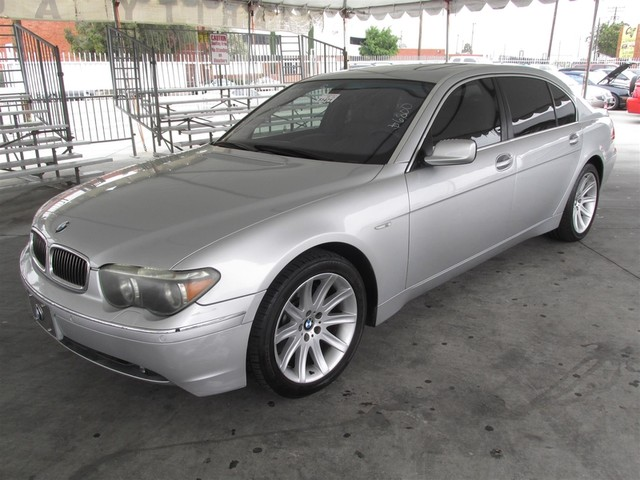 2003 BMW 745Li Please call or e-mail to check availability All of our vehicles are available fo