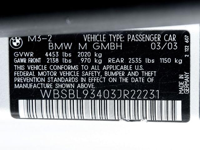 2003 BMW M Models M3 Burbank, CA 37