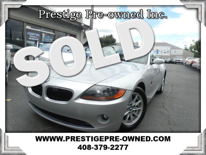 2003 BMW Z4 2.5i ((**6-SPEED MANUAL**))  in Campbell CA