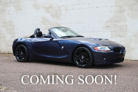 2003 BMW Z4 3.0i Roadster w/Blacked Out 18