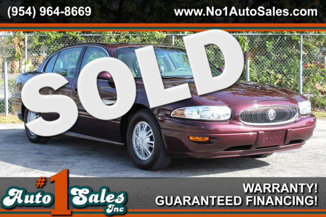 2003 Buick LeSabre Custom  WARRANTY CARFAX CERTIFIED FLORIDA VEHICLE LOW MILES TRADES WELCO