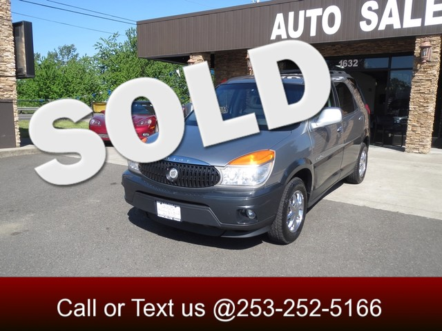 2003 Buick Rendezvous CXL AWD The CARFAX Buy Back Guarantee that comes with this vehicle means tha