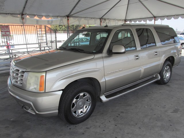 2003 Cadillac Escalade ESV Please call or e-mail to check availability All of our vehicles are