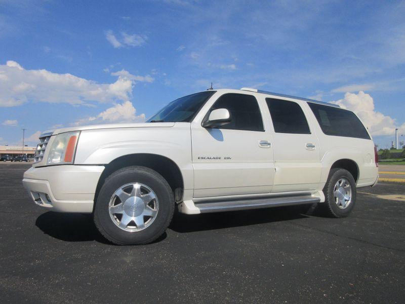 2003 Cadillac Escalade ESV AWD w DVD  Fultons Used Cars Inc  in , Colorado