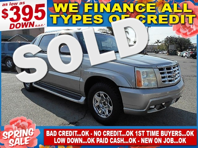 2003 Cadillac Escalade EXT EXT Limited warranty included to assure your worry-free purchase AutoC