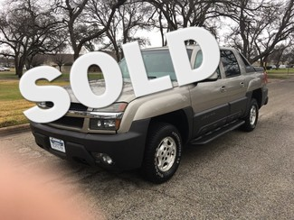 2003 Chevrolet 1500 Avalanche 4x4 in Ft Worth TX