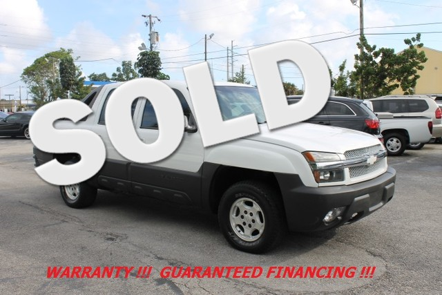 2003 Chevrolet Avalanche  WARRANTY QUAD CAB ONLY 2 OWNERS FLORIDA VEHICLE  Whether your