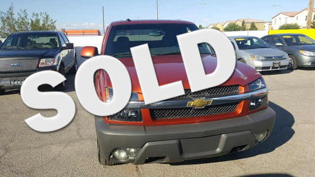 Used Cars in Las Vegas 2003 Chevrolet Avalanche