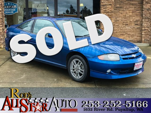 2003 Chevrolet Cavalier LS Sport The CARFAX Buy Back Guarantee that comes with this vehicle means