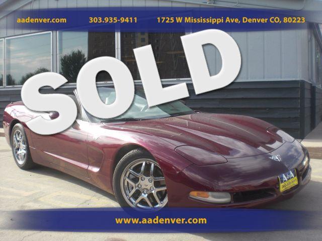 2003 Chevrolet Corvette Convertible 50th Anniversary Edition | Denver, CO | A&A Automotive of Denver in Denver CO