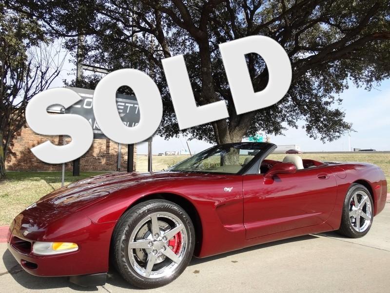 2003 Chevrolet Corvette 50th Anniversary Edition Automatic 57k!