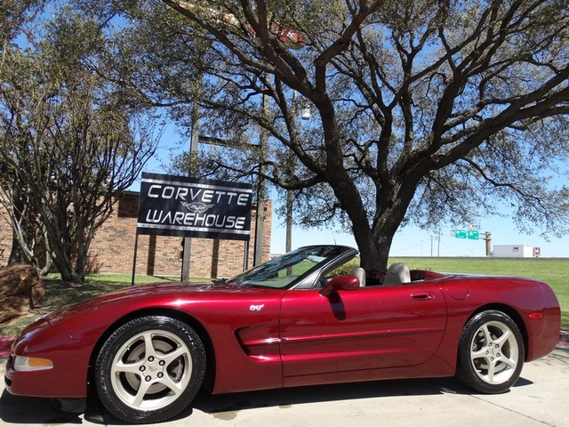 2003 Chevrolet Corvette Convertible 50th Anniversary Edition 1-Owner 48k! | Dallas, Texas | Corvette Warehouse