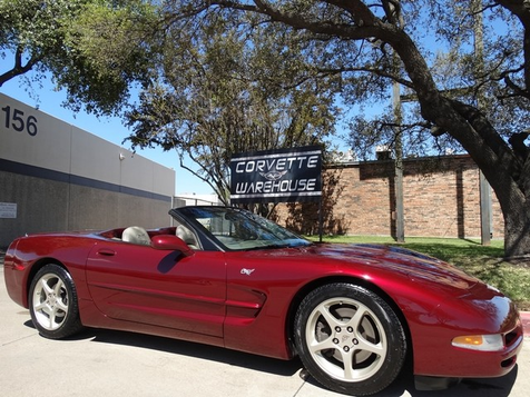 2003 Chevrolet Corvette Convertible 50th Anniversary Edition 1-Owner 48k! | Dallas, Texas | Corvette Warehouse  in Dallas, Texas