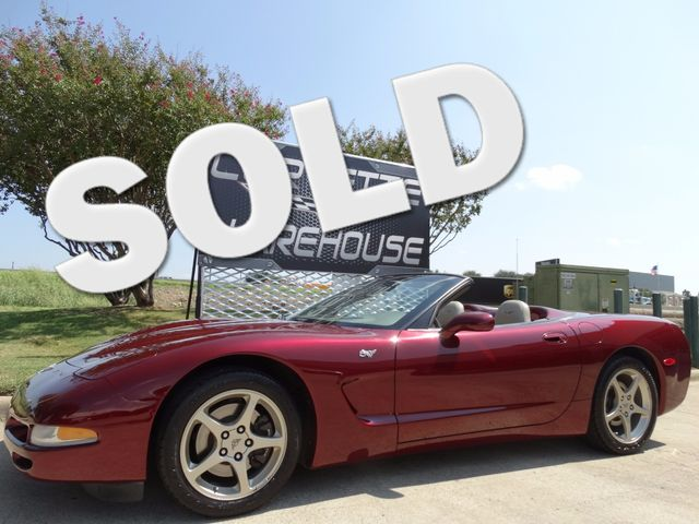 2003 Chevrolet Corvette 50th Anniversary Edition Convertible 1-Owner 13k! | Dallas, Texas | Corvette Warehouse