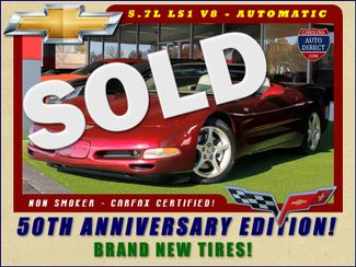 2003 Chevrolet Corvette 50TH ANNIVERSARY EDITION! NEW TIRES! Mooresville , NC