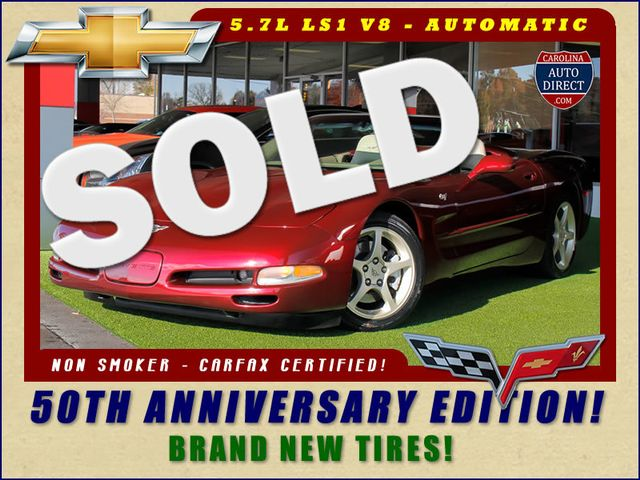 2003 Chevrolet Corvette 50TH ANNIVERSARY EDITION! NEW TIRES! Mooresville , NC 0
