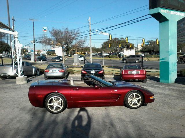2003 Chevrolet Corvette 50th Anniversary pkg San Antonio, Texas 3