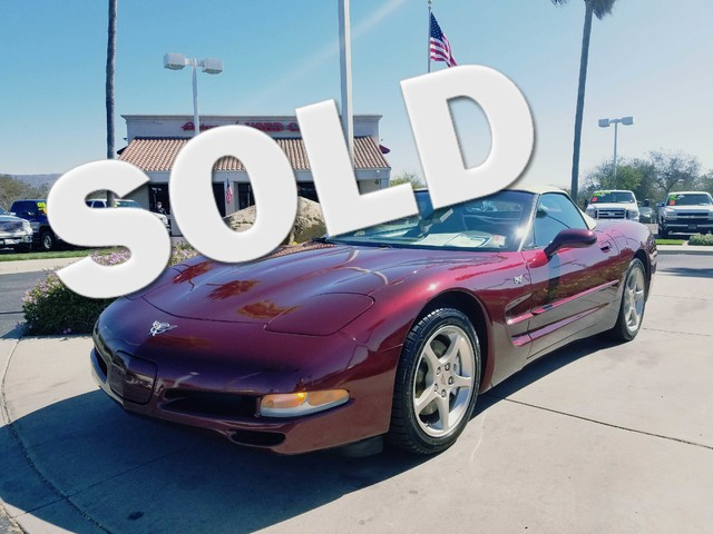 2003 Chevrolet Corvette You wont lack the horsepower or torque you need when driving this powerfu