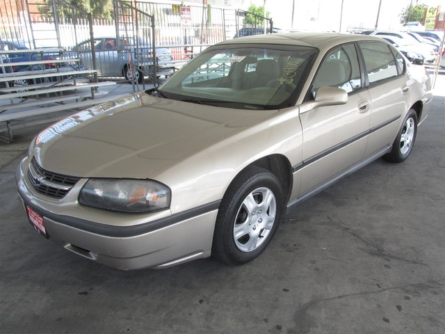 2003 Chevrolet Impala Please call or e-mail to check availability All of our vehicles are avail