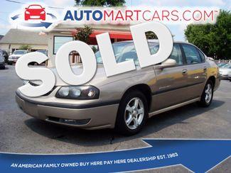 2003 Chevrolet Impala LS | Nashville, Tennessee | Auto Mart Used Cars Inc. in Nashville Tennessee