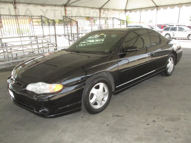 2003 Chevrolet Monte Carlo SS Please call or e-mail to check availability All of our vehicles a