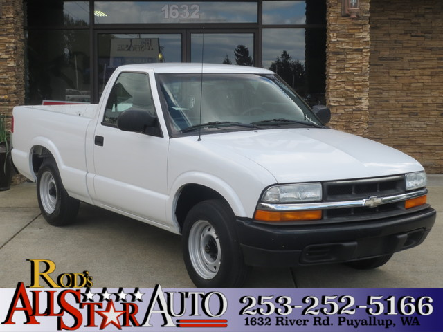 2003 Chevrolet S-10 The CARFAX Buy Back Guarantee that comes with this vehicle means that you can