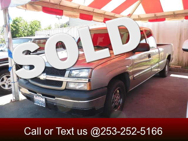 2003 Chevrolet Silverado 1500 LS The CARFAX Buy Back Guarantee that comes with this vehicle means
