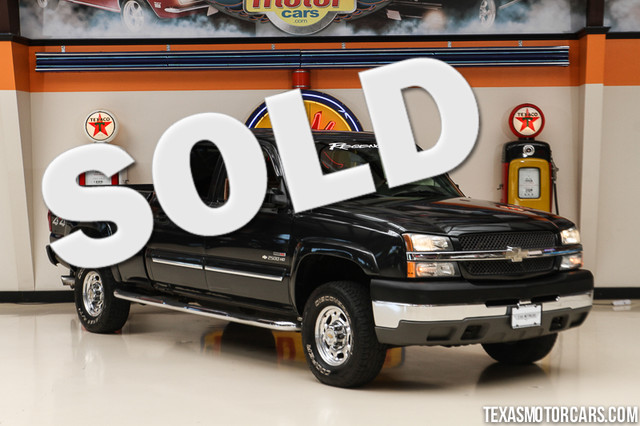 2003 Chevrolet Silverado 2500HD LT This clean Carfax 2003 Chevrolet Silverado 2500HD LT 4x4 is in