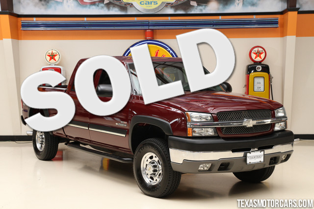 2003 Chevrolet Silverado 2500HD LS This 2003 Chevrolet Silverado 2500HD LS is in great shape with