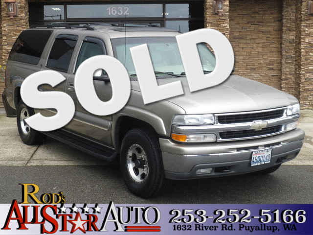 2003 Chevrolet Suburban LT 4WD This vehicle is a CarFax certified one-owner used car Pre-owned ve