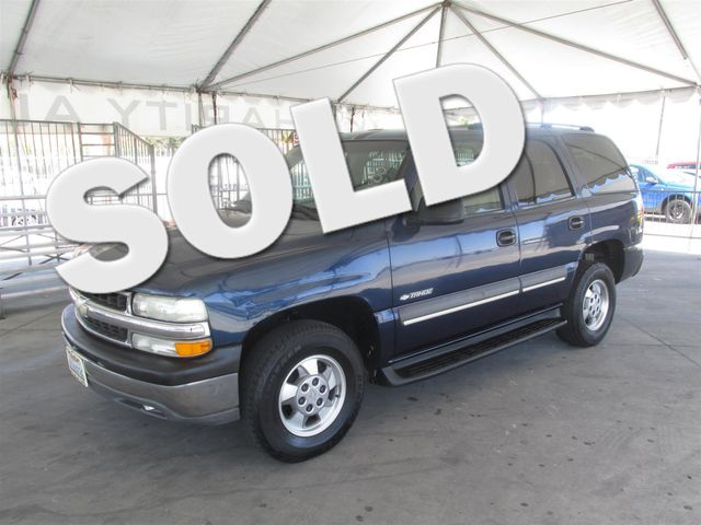 2003 Chevrolet Tahoe LS Please call or e-mail to check availability All of our vehicles are ava
