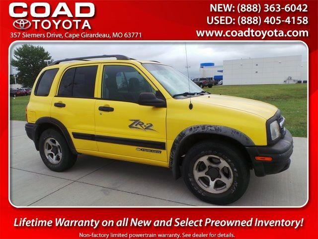 2003 Chevrolet Tracker ZR2 Cape Girardeau, Missouri 0