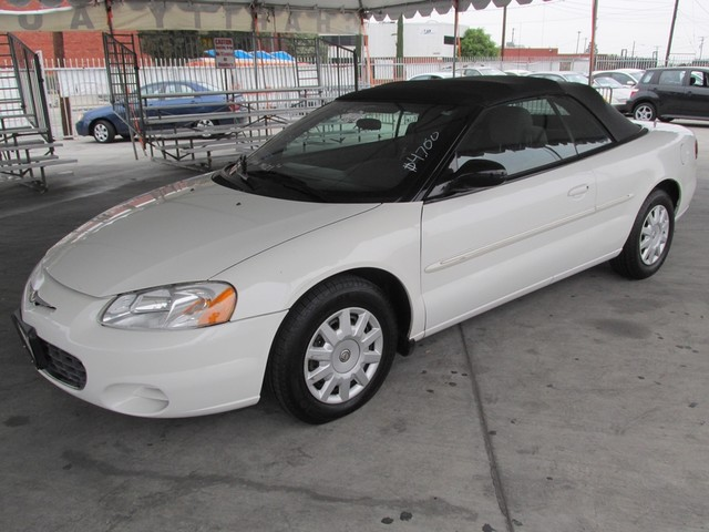 2003 Chrysler Sebring LX Please call or e-mail to check availability All of our vehicles are ava