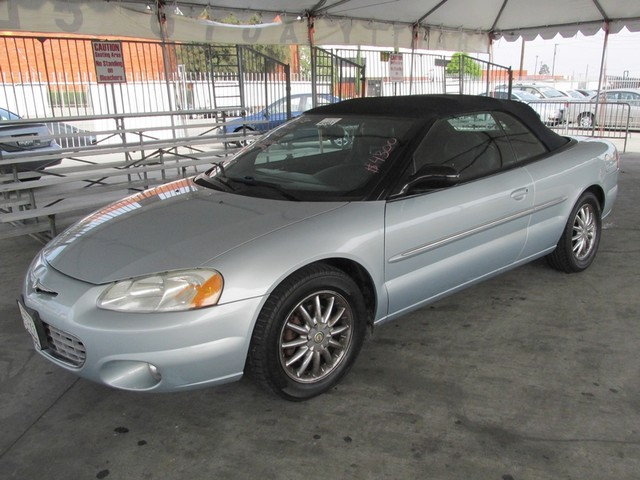 2003 Chrysler Sebring Limited Please call or e-mail to check availability All of our vehicles ar