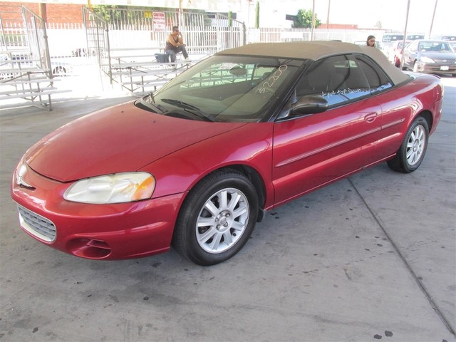 2003 Chrysler Sebring GTC Please call or e-mail to check availability All of our vehicles are a