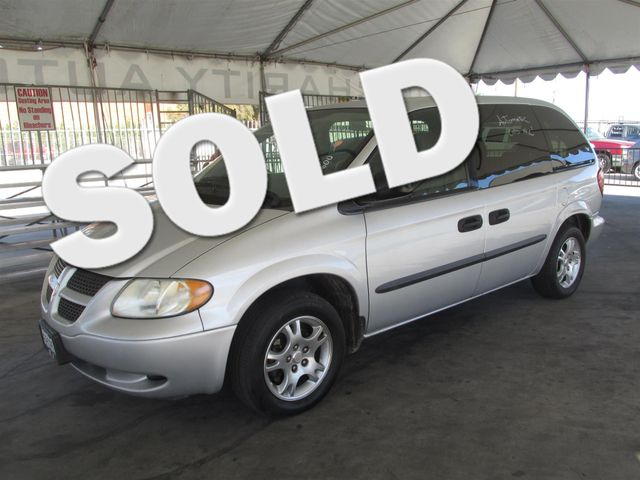 2003 Dodge Caravan SE This particular Vehicle comes with 3rd Row Seat Please call or e-mail to ch