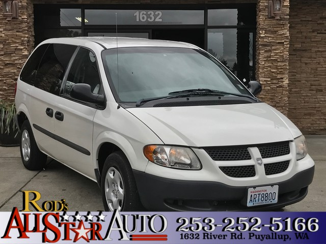 2003 Dodge Caravan SE The CARFAX Buy Back Guarantee that comes with this vehicle means that you ca