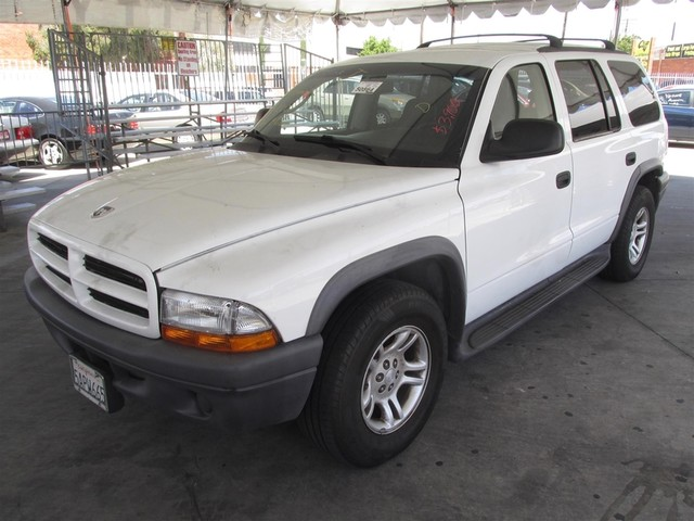 2003 Dodge Durango Sport Please call or e-mail to check availability All of our vehicles are av