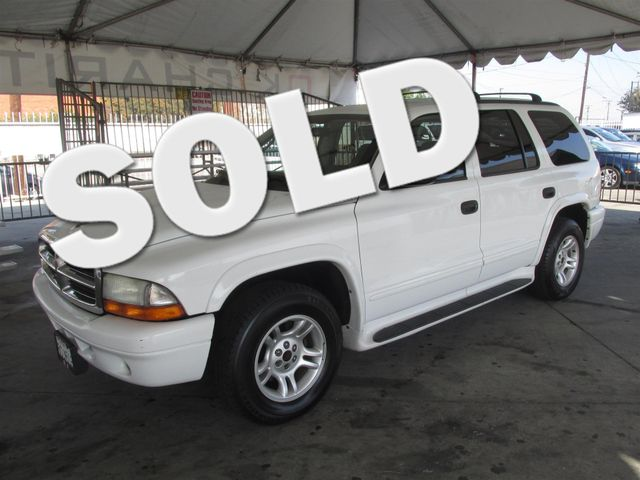 2003 Dodge Durango SLT This particular Vehicle comes with 3rd Row Seat Please call or e-mail to c