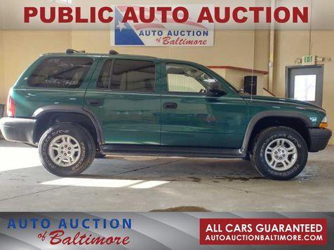 2003 Dodge Durango Sport | JOPPA, MD | Auto Auction of Baltimore  in JOPPA, MD