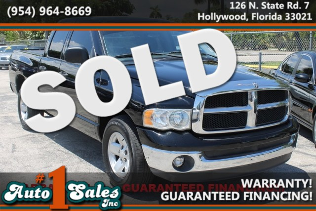 2003 Dodge Ram 1500 ST  WARRANTY 3 OWNERS 5 SERVICE RECORDS FLORIDA VEHICLE  This 2003 d