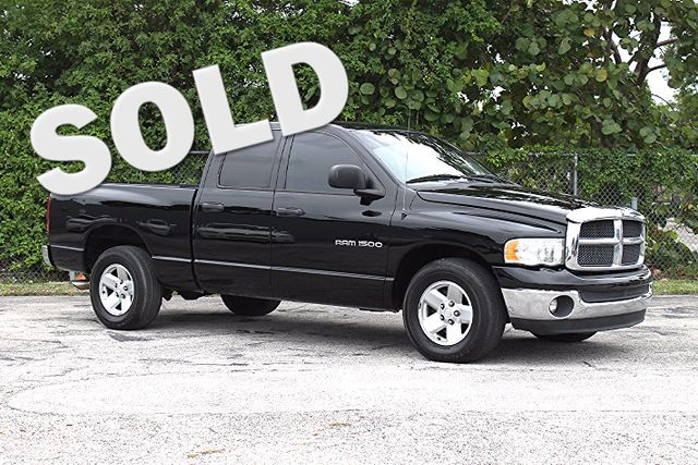 2003 Dodge Ram 1500 ST  WARRANTY CARFAX CERTIFIED 6 SERVICE RECORDS FLORIDA VEHICLE TRADES