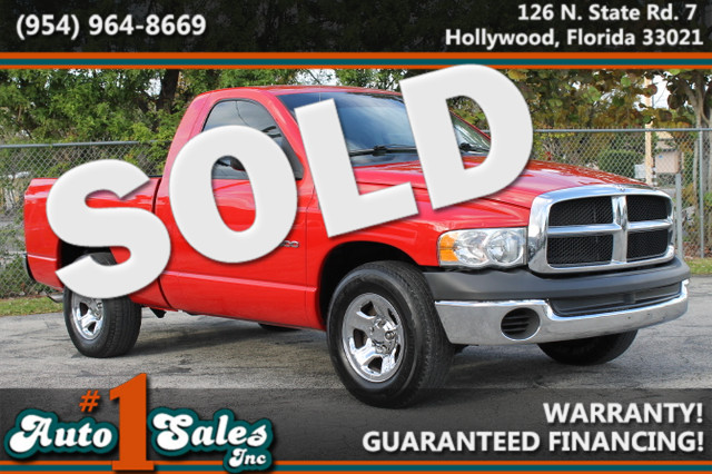 2003 Dodge Ram 1500 ST  WARRANTY 3 OWNERS 2 SERVICE RECORDS FLORIDA VEHICLE TRADES WELCOME
