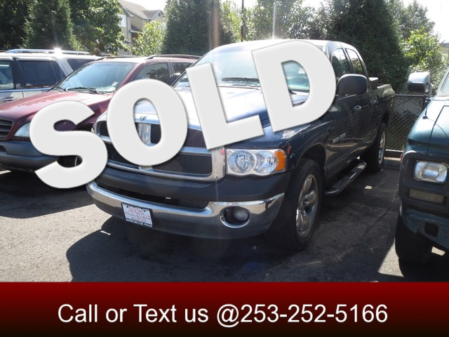 2003 Dodge Ram 1500 SLT The CARFAX Buy Back Guarantee that comes with this vehicle means that you